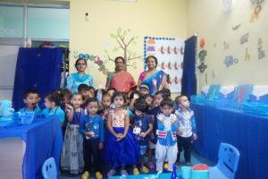 Blue Color Day! – Presidency Kids